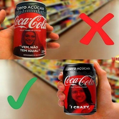 Página faz sucesso  ao estampar rosto de piauienses em latas de nova campanha da Coca Cola