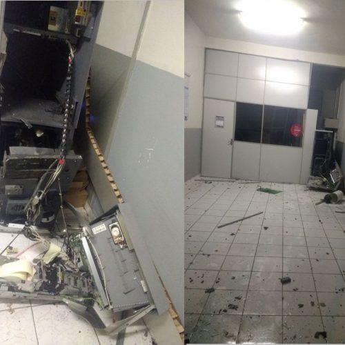 Criminosos explodem posto do Bradesco em Patos do Piauí