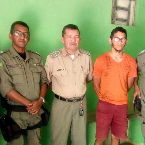 Jovem é preso por furtar 200 kg de castanhas em Marcolândia