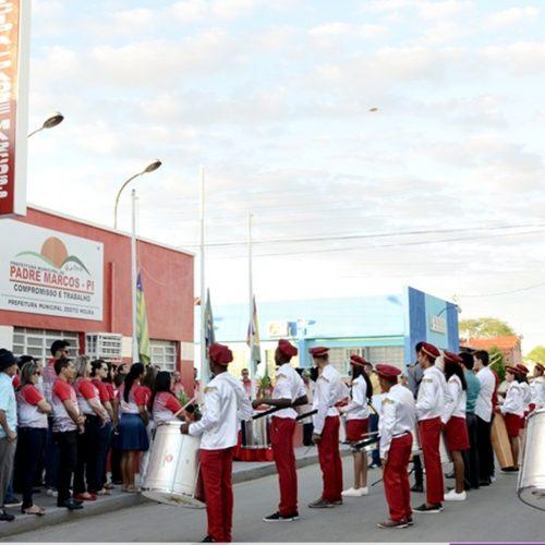 Hino oficial de Padre Marcos é lançado durante comemorações aos 54 anos de emancipação política