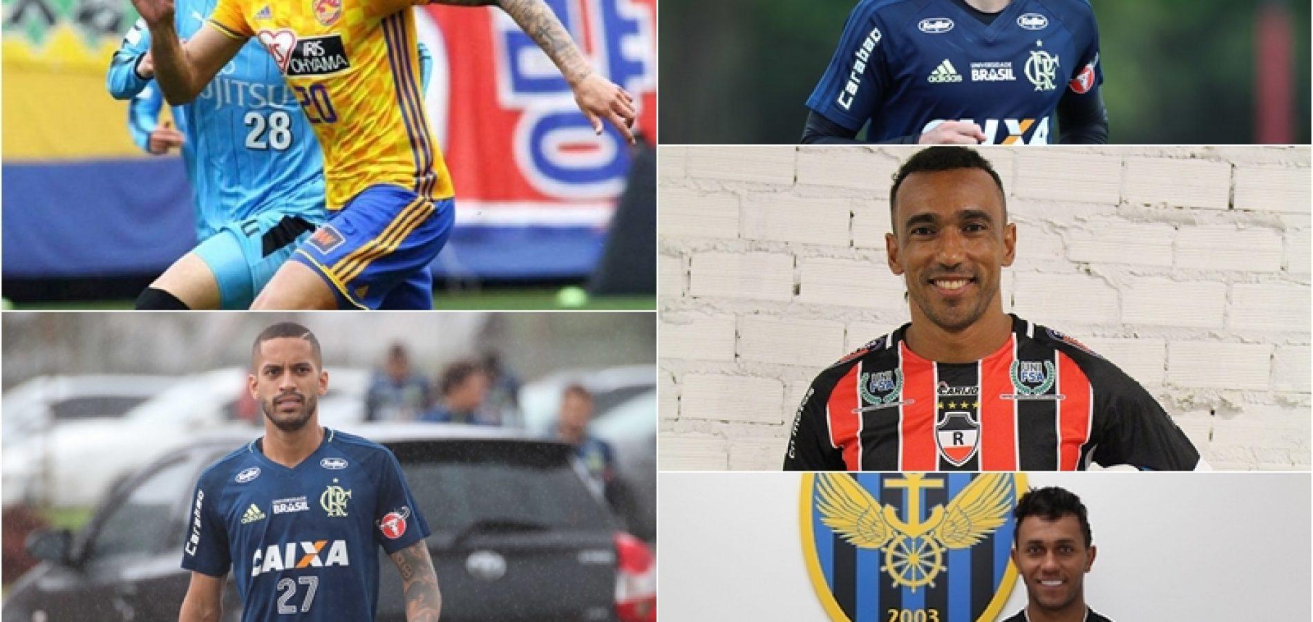 Onde atuarão os principais jogadores de futebol do Piauí na temporada 2018?