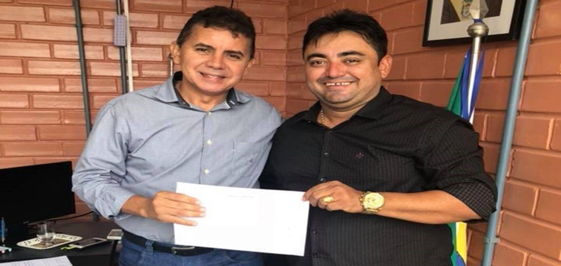 Prefeito Márcio confirma licitação para construção de mais uma obra do Governo do Estado em Alegrete do PI