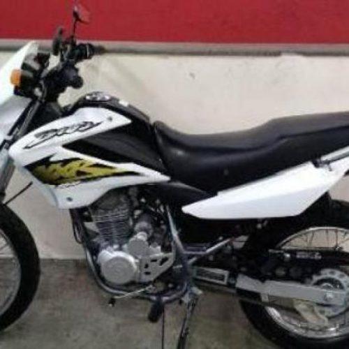 Moto furtada é encontrada abandonada no DNER em Picos