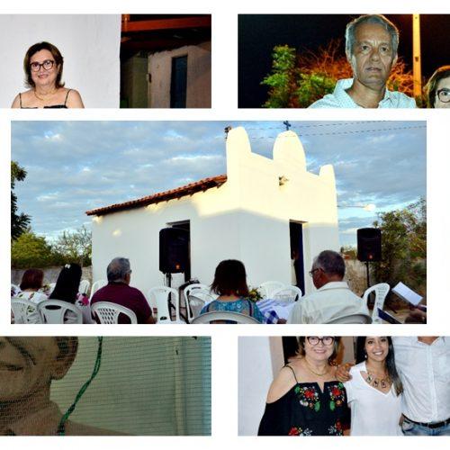 Familiares reinauguram capela de São Francisco e celebram aniversário de 50 anos de Zé Odon no Sítio Almoço em Fronteiras –PI