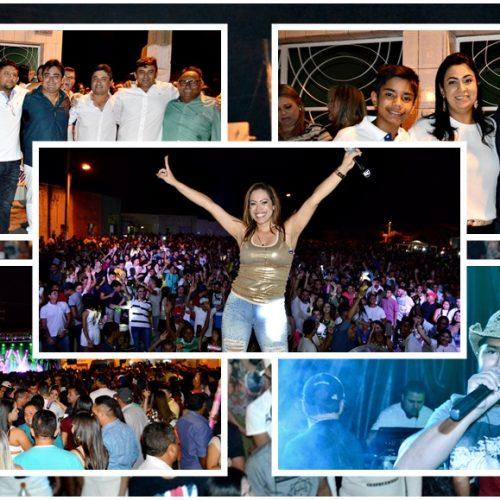 Shows levam multidão à festa de Réveillon 2018 em Alegrete do Piauí; veja fotos