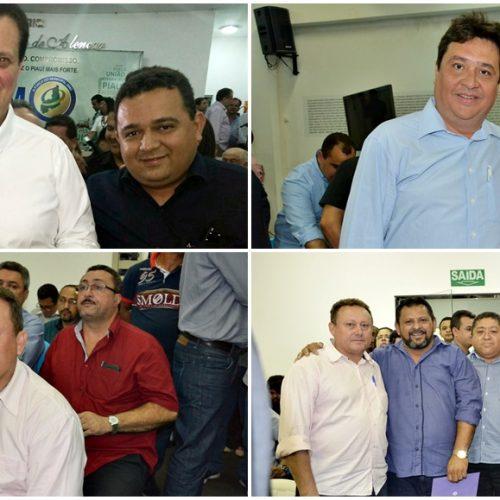 Prefeito de Vila Nova participa de lançamento do programa 'Internet para Todos' no Piauí, com ministro Kassab