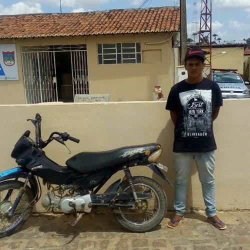 Homem é agredido e preso após tentar roubar moto em Marcolândia