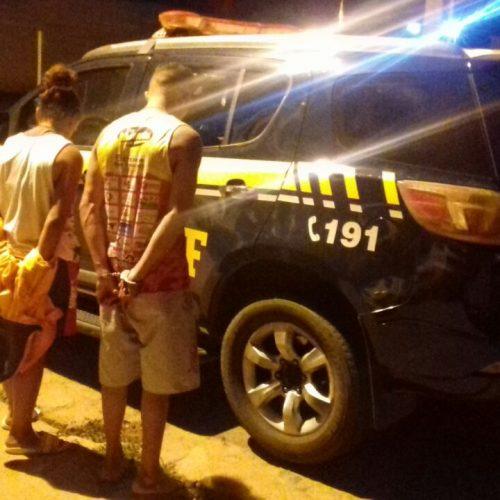 PRF prende três suspeitos de roubar caminhão da Coca Cola em Picos