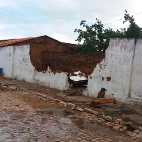 Tempestade assusta população de Santo Inácio do Piauí; veja vídeo