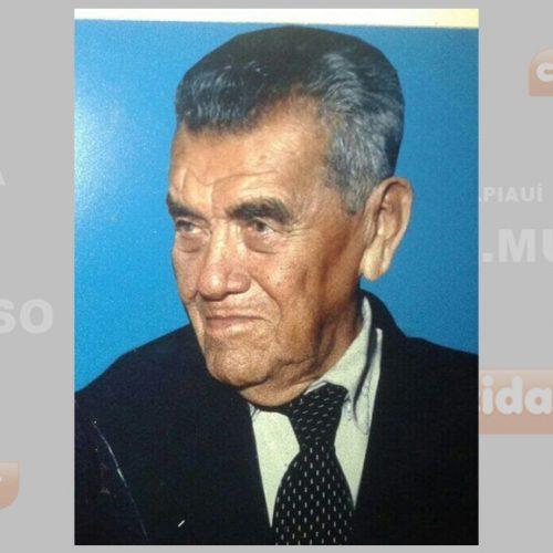 "Falece aos 98 anos ""Zeca Luz"", pai do vice-prefeito de Fronteiras – PI"