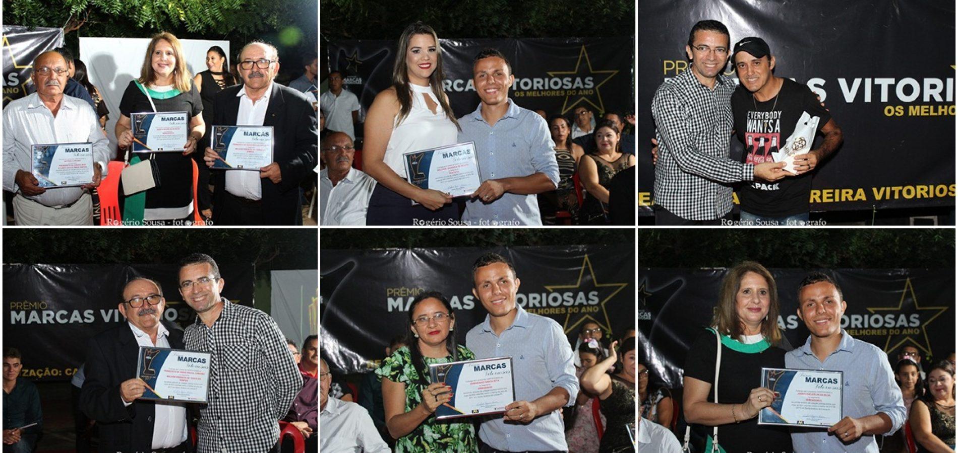 """""""Marcas Vitoriosas"""" premia profissionais e empresas em Santo Antônio de Lisboa"""