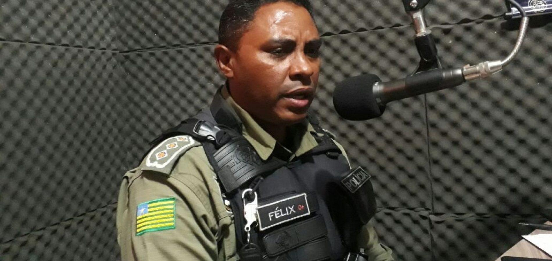 Capitão Lindomar Félix fala sobre assaltos ocorridos em Jaicós e a segurança pública no município