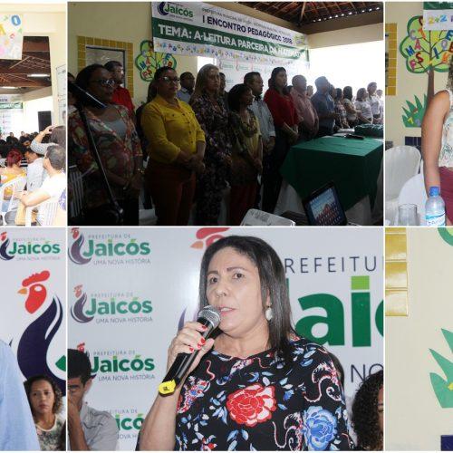 Secretaria de Educação realiza abertura do primeiro Encontro Pedagógico de 2018 em Jaicós