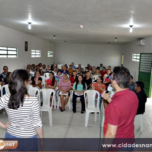 Prefeitura de Belém do Piauí realiza formação de educadores para Programa Saúde na Escola