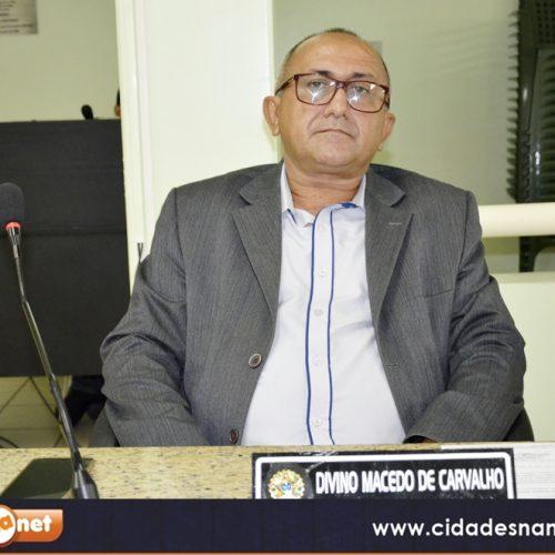 Vereador Divino Macedo solicita serviço de roço nas rodovias de acesso a Massapê e Belém do Piauí
