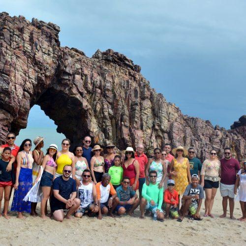 'Joelma Viagens' leva grupo para conhecer Jericoacoara, um dos paraísos do Brasil; veja fotos