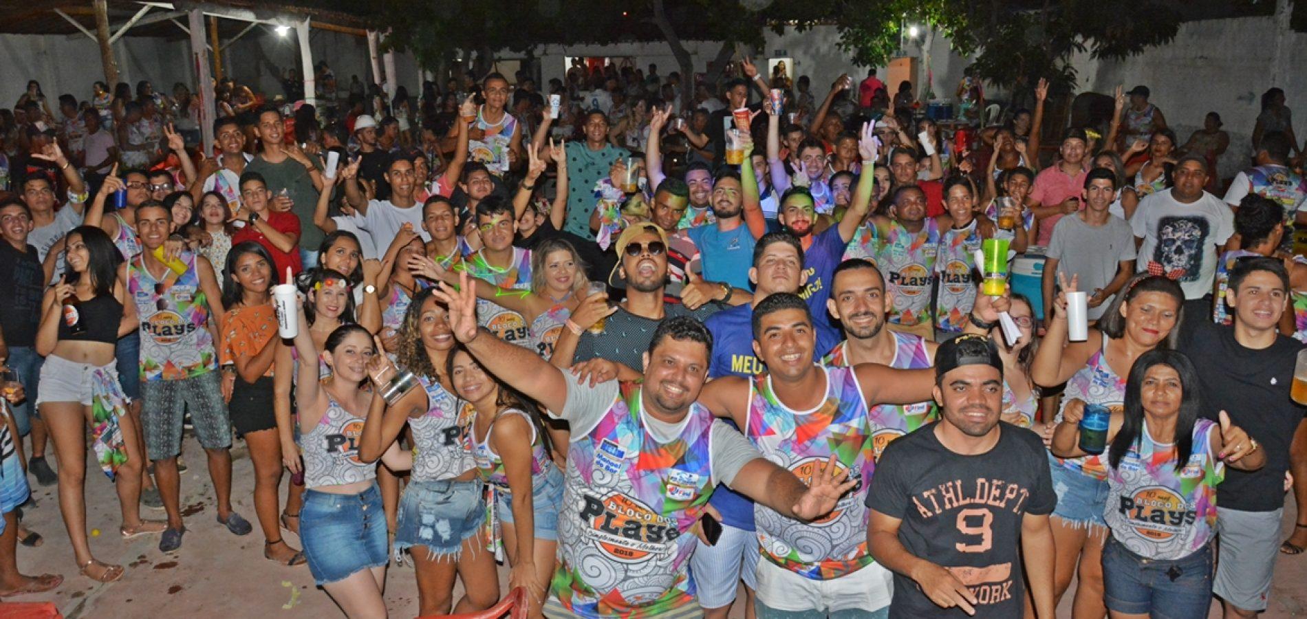 FOTOS | Festa do Bloco dos Plays em Patos do Piauí