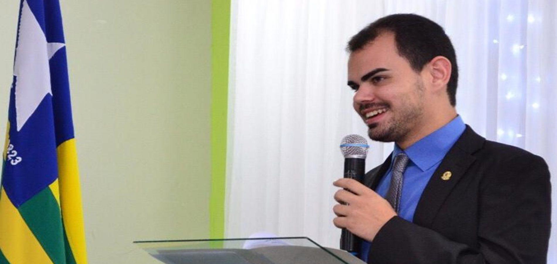 PIO IX | Vereador aciona Ministério Público para suspender pagamento das contas de água da Agespisa