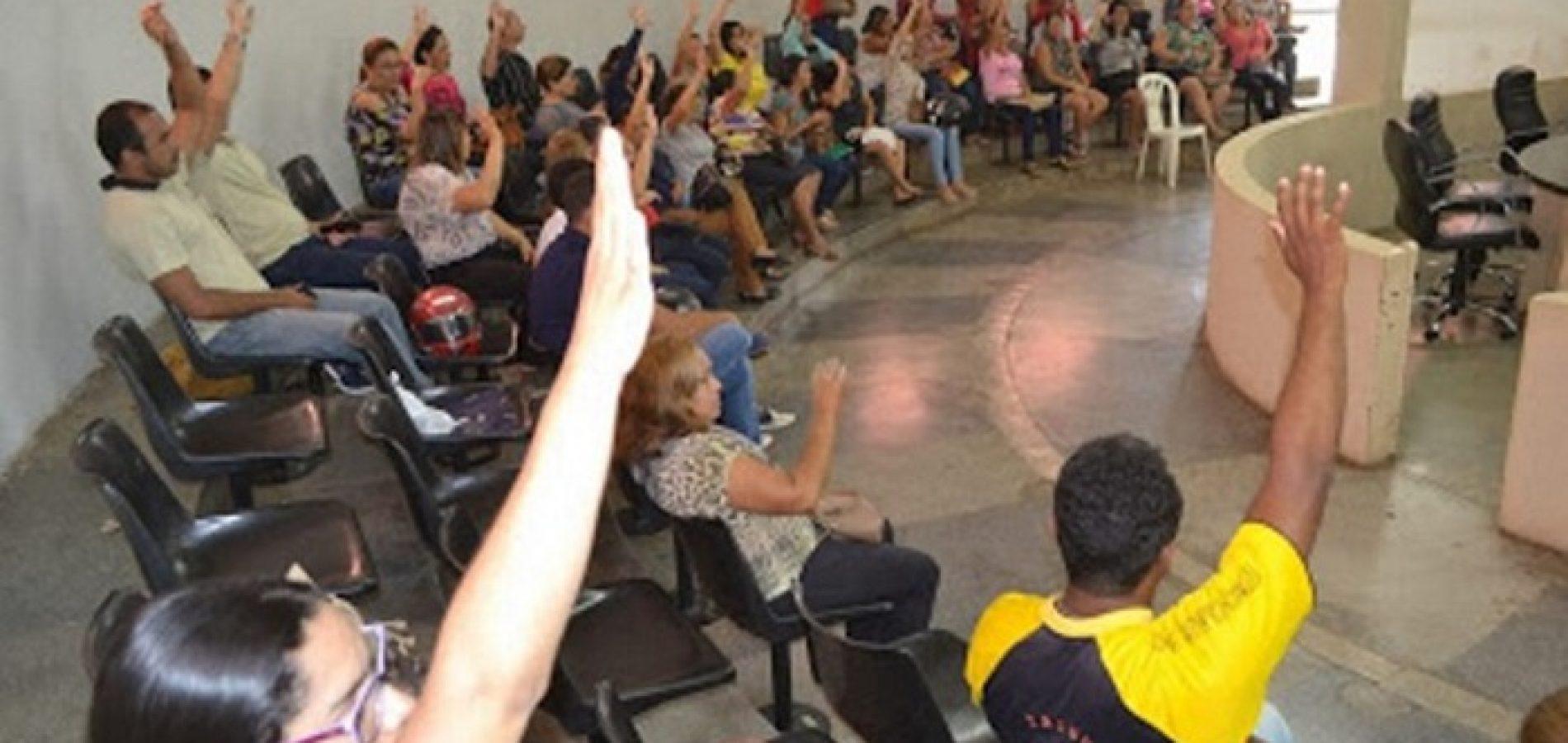 Sindserm de Picos reúne 50 servidores em assembleia e decide aderir à greve nacional