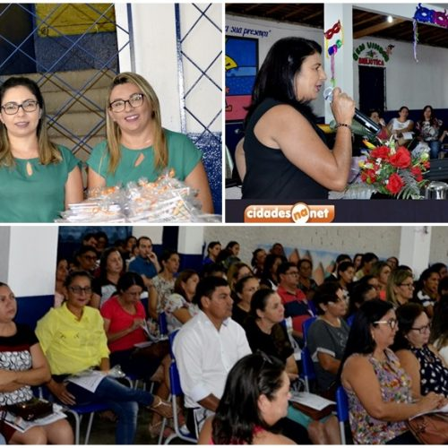 Encontro Pedagógico abre ano letivo em Campo Grande do Piauí