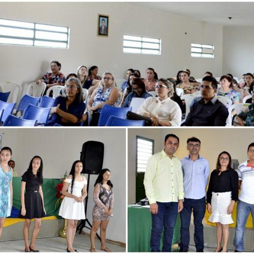 Semana pedagógica é aberta em Belém do Piauí; fotos