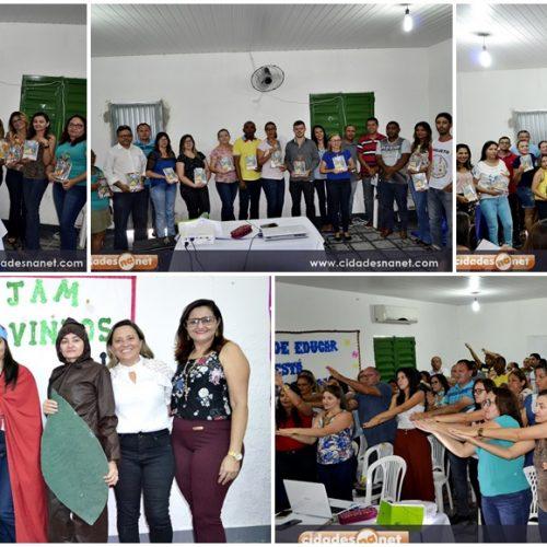 MASSAPÊ   Jornada Pedagógica reúne educadores para planejamento do ano letivo de 2018