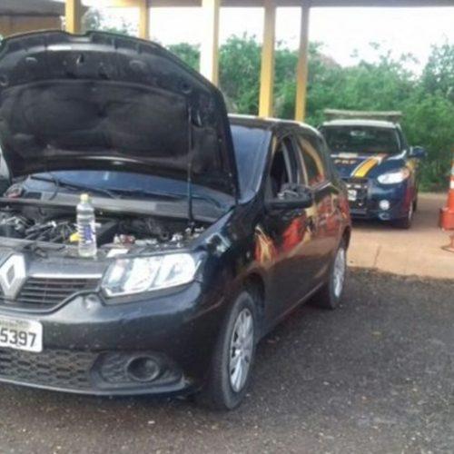 Carro roubado em Recife é apreendido em Picos