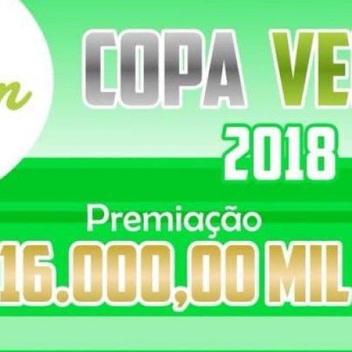 JACOBINA: III edição da Copa Verde terá R$ 16 mil  em premiação