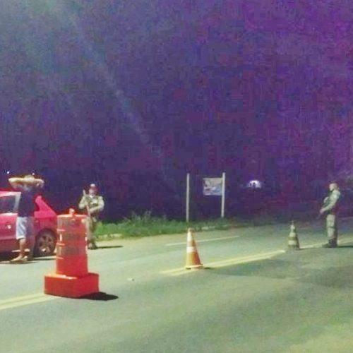 PM de Jaicós reforça ações de segurança e realiza barreiras nas rodovias de acesso ao município