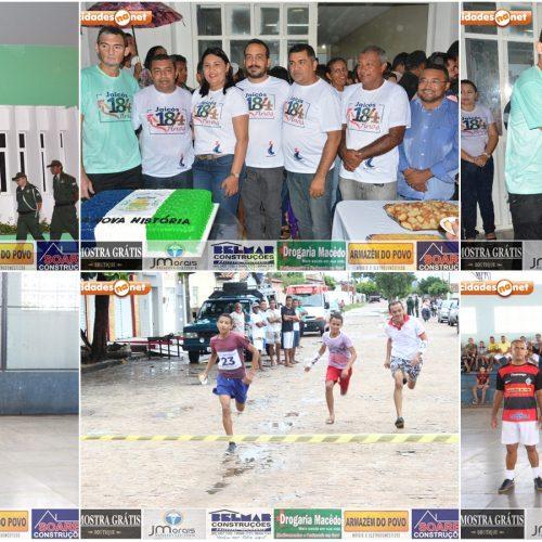 Atividades cívicas e esportivas marcam comemorações do aniversário de 184 anos de Jaicós