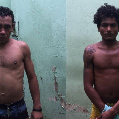 Dupla é presa após roubar moto no bairro Bomba