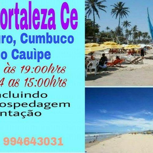 Agente de viagens Eliel Oliveira promove excursão turística para o litoral de Fortaleza. Reserve sua vaga!