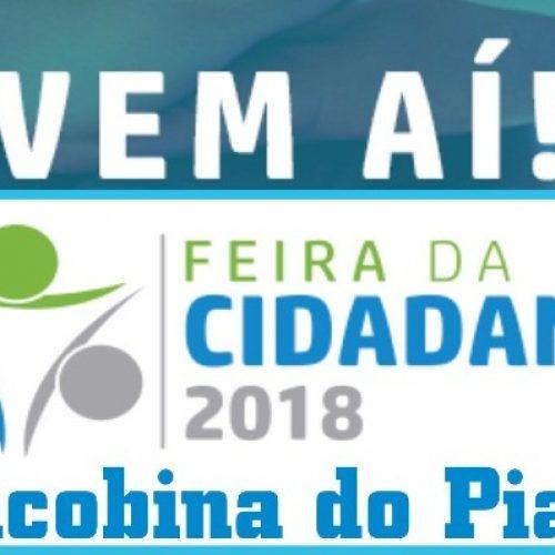 Feira da Cidadania oferecerá serviços gratuitos para população de Jacobina do Piauí