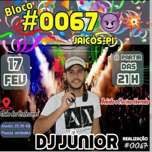 Festa do Bloco #0067 acontece neste sábado (17) em Jaicós