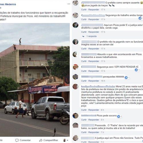 Ex-vereador denuncia falta de equipamentos de segurança em Picos