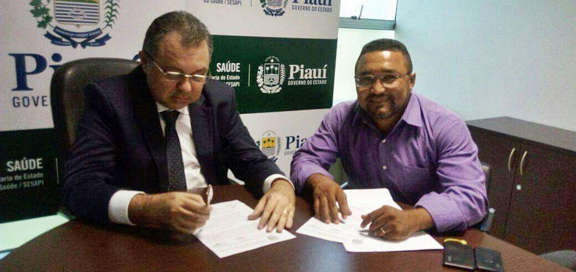 Vereador Irmão Jessé se reúne com o secretário estadual de Saúde e reivindica melhorias para Jaicós