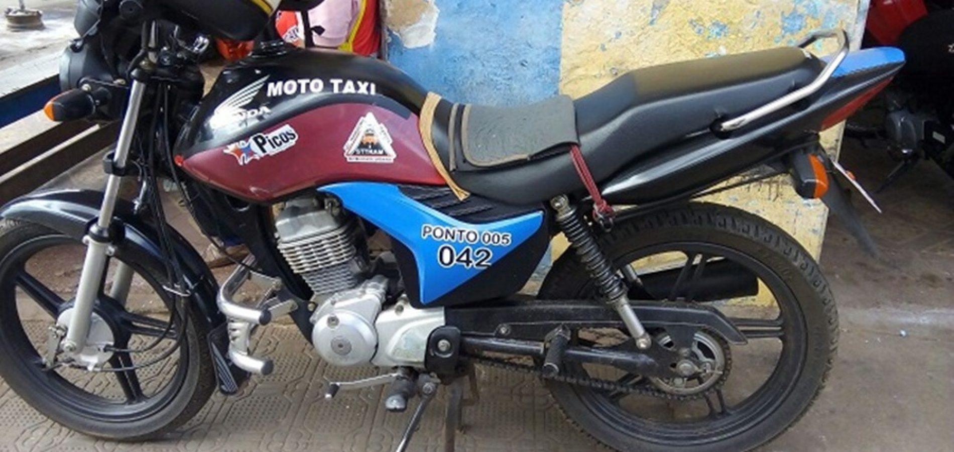 Mototaxista é assaltado e tem veículo levado em Picos