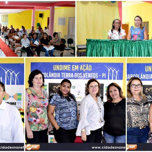Marcolândia sedia encontro regional 'Undime em Ação' e reúne dirigentes de Educação; fotos