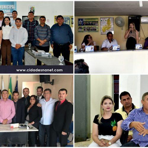 Vereadores de São Julião visitam Câmaras de Alegrete, Alagoinha e Vila Nova para formar comitê de segurança pública