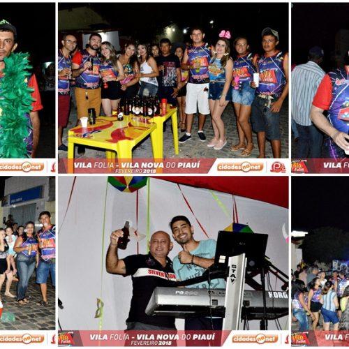 Blocos celebram carnaval 'Vila Folia 2018' em Vila Nova do PI; veja como foi