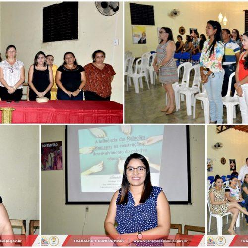 Educação de Vila Nova se prepara para o início do ano letivo e realiza 1º dia de Atividades Pedagógicas