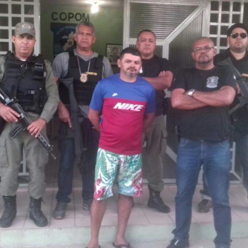 Acusado de matar ex-esposa a facadas é preso em Curral Novo do PI