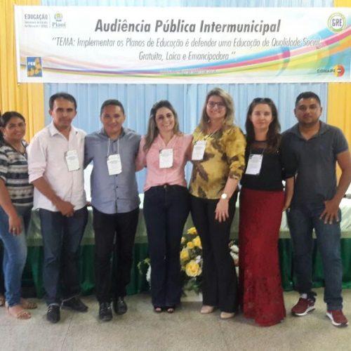 Representantes de Padre Marcos participam de Audiência Pública  Intermunicipal de Educação em Fronteiras