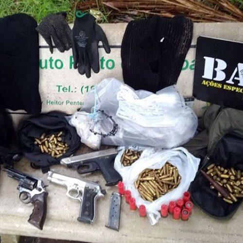 Polícia mata sete suspeitos de explodir caixas eletrônicos