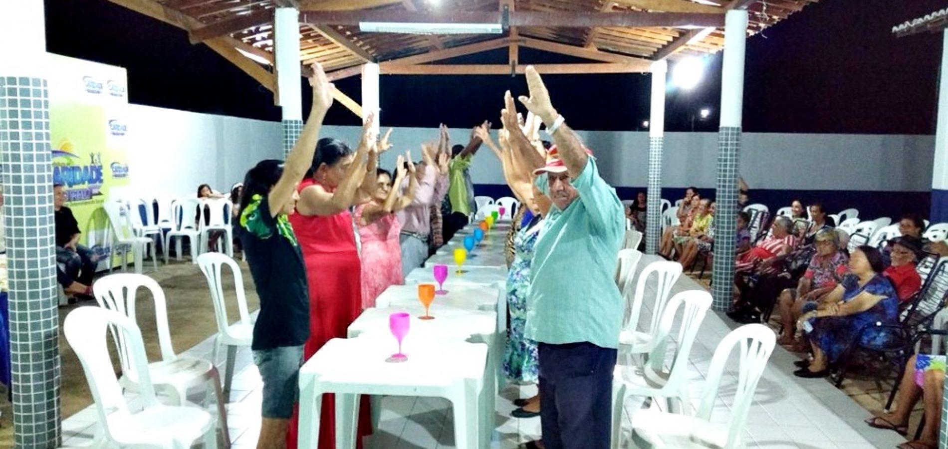 CARIDADE | Forró dos Idosos abre atividades do Serviço de Convivência e proporciona alegria e diversão