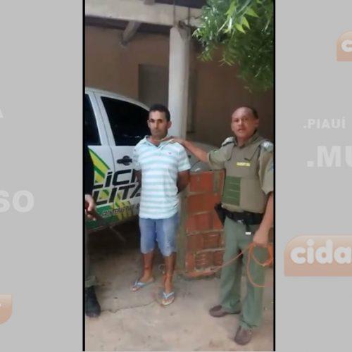 Polícia prende homem suspeito de praticar 11 assaltos em São Julião, Alegrete, Campo Grande e Vila Nova