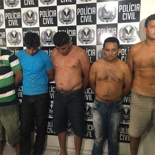 Greco prende 5 suspeitos de assaltos a postos de combustíveis no Piauí