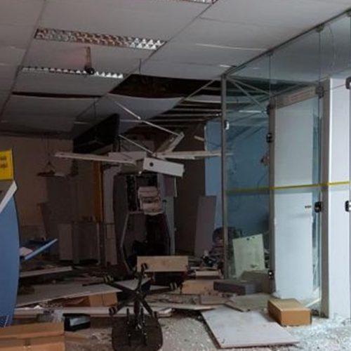 Bandidos explodem agência do Banco do Brasil na cidade de Inhuma; Assista ao vídeo