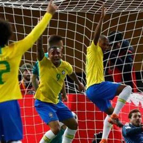 Com gol de Gabriel Jesus, Brasil vence Alemanha em reencontro