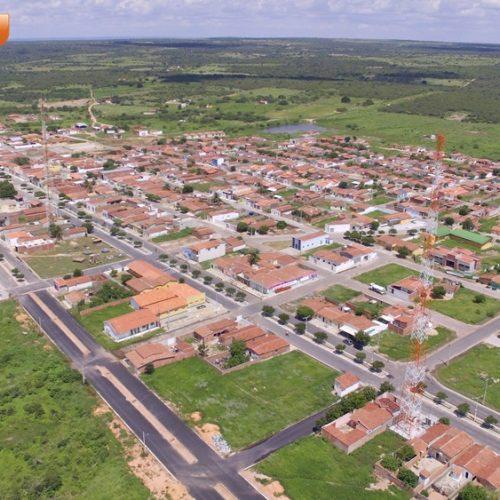 DO ALTO | Veja imagens aéreas da cidade de Belém do Piauí